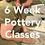 Thumbnail: 6 Week Pottery Course   Thursdays   15th April - 20th May
