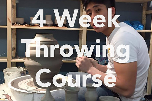 *4 week Throwing Course*| Sundays | 15th November - 6th December