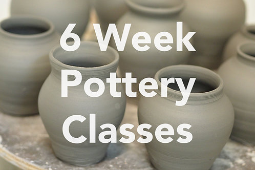 6 Week Pottery Course | Thursdays | 4th Feb - 11th March