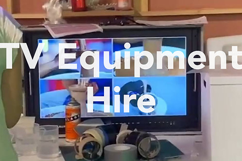 TV Equipment Hire