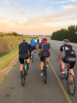 Tuesday road group ride