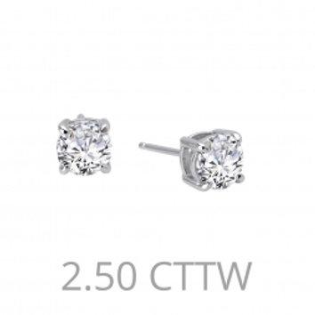 Diamond Stud earrings 2.5 CTTW