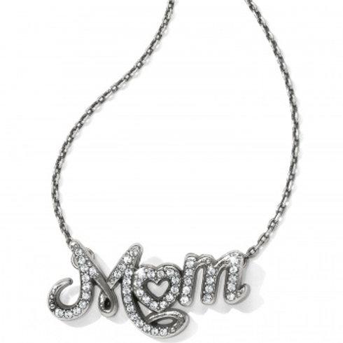 Mom Script necklace