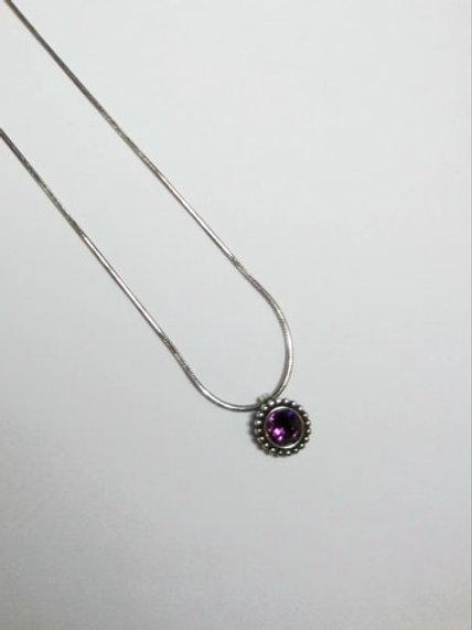 Twinkle Amethyst Necklace