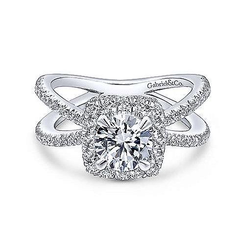 Delphinia Diamond Ring