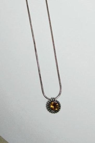Twinkle Topaz Necklace