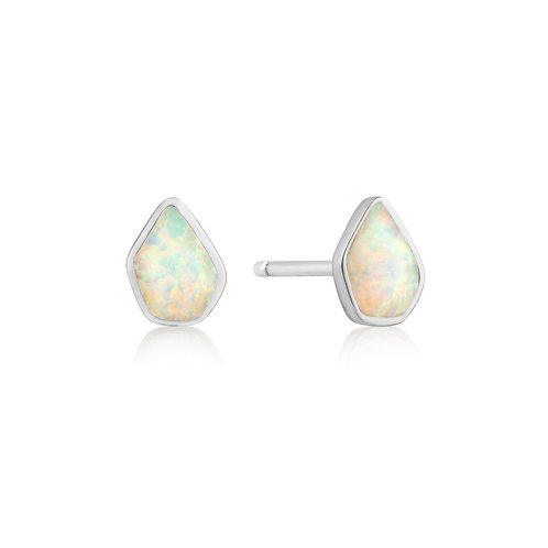 Opal Colour stud earrings