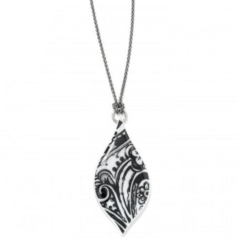 Casablanca Teardrop Necklace