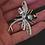 Thumbnail: Tahitian Topaz and Garnet Dragonfly