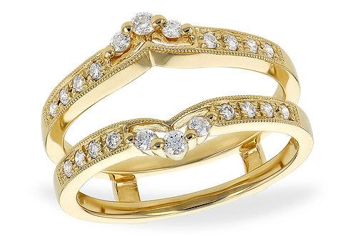 Gold and diamond guard