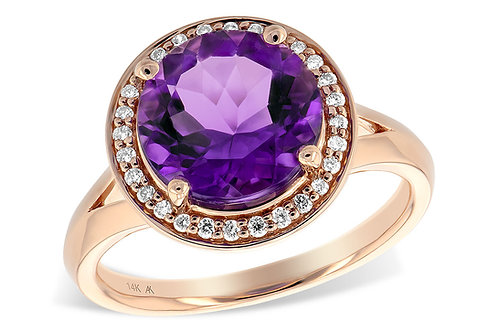 3.62 CT Amethyst Ring