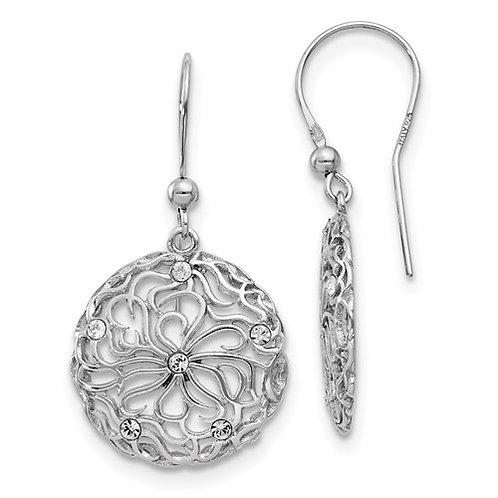 Floral Dangle Earrings
