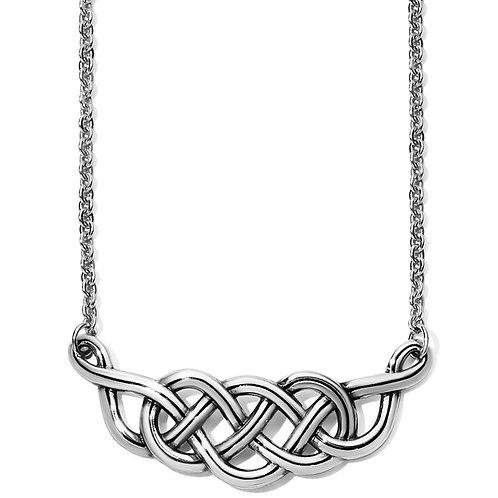 Interlok Braid Collar Necklace