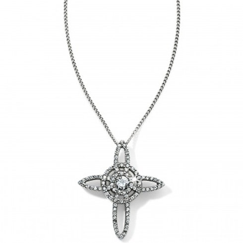 Illumina Cross necklace