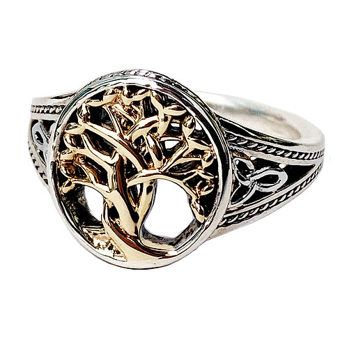 10K Tree of Life Ring