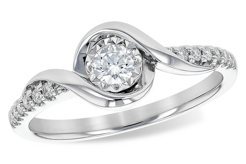 AK Bypass Engagement Ring