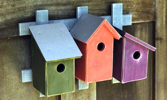 Heartwood Bird Houses