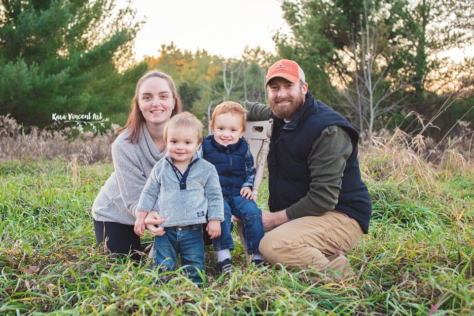 Nelson Family | Spooner Family Photographer | Kara Vincent Art
