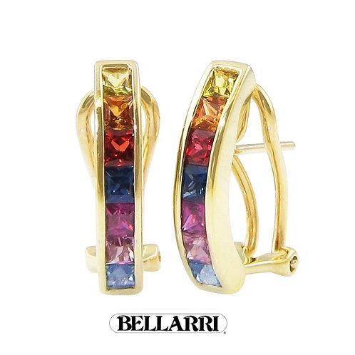 Eternal Love Multi Sapphire Earrings