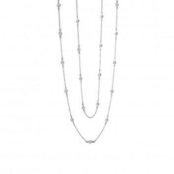 Double Bezel Necklace