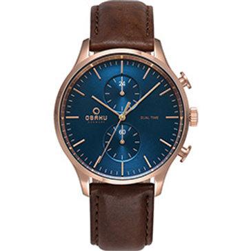 Men's Dual Time watch