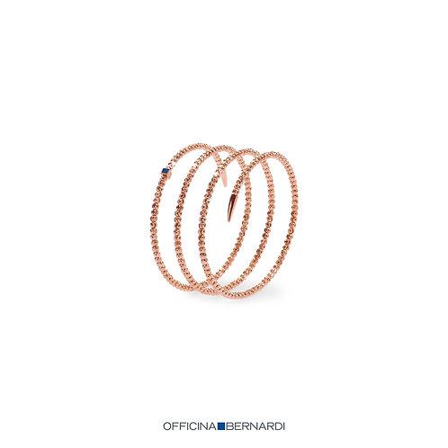 Rose Gold Moon Bracelet