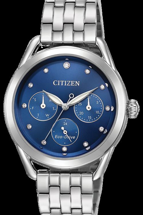 Swarovski® Crystal Blue Drive Watch