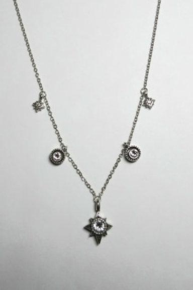 Halo Stargazer Necklace