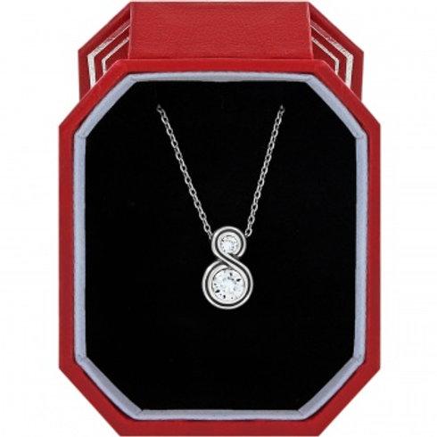 Infinity Sparkle Necklace (petite)