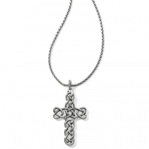 Interlock Convertible Cross necklace