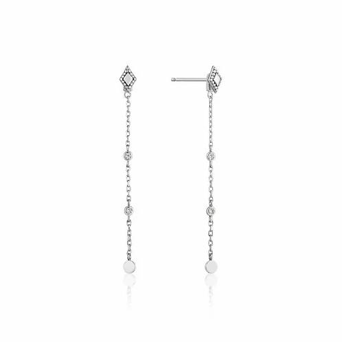 Silver Bohemia Drop Earrings