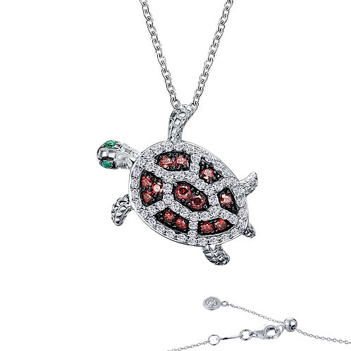 Whimsical Sea Turtle Necklace