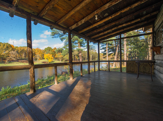 View of Lake from the Family Cabin