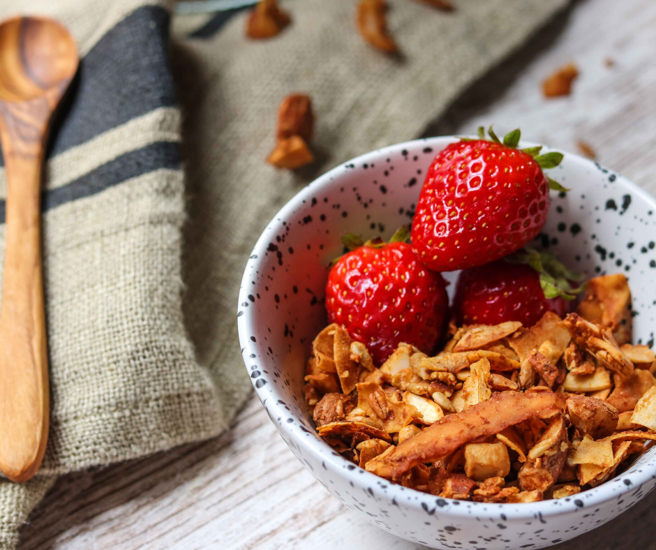 TROPICAL GLUTEN FREE GRANOLA FB