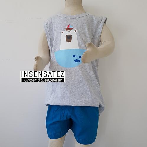 Pijama Urso Inf. Masc.