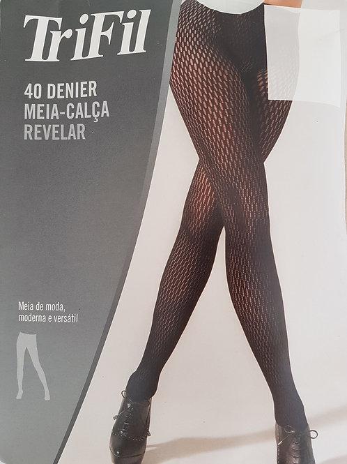 Meia Calça Revelar Fio 40