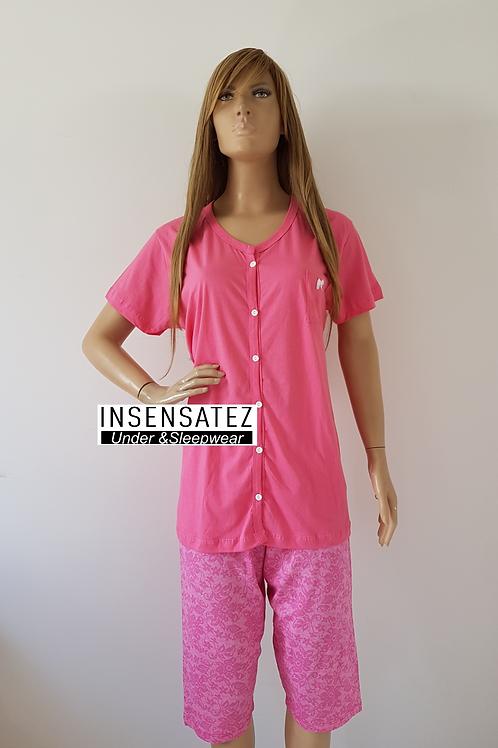 Pijama Capri Jovem Senhora Aberto