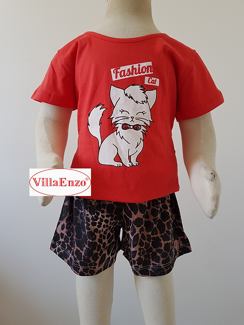 Short Doll Fashion Cat Inf.