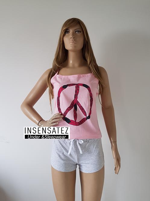 Short Doll Alça Peace