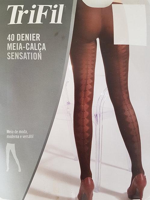 Meia Calça Sensation Fio 40