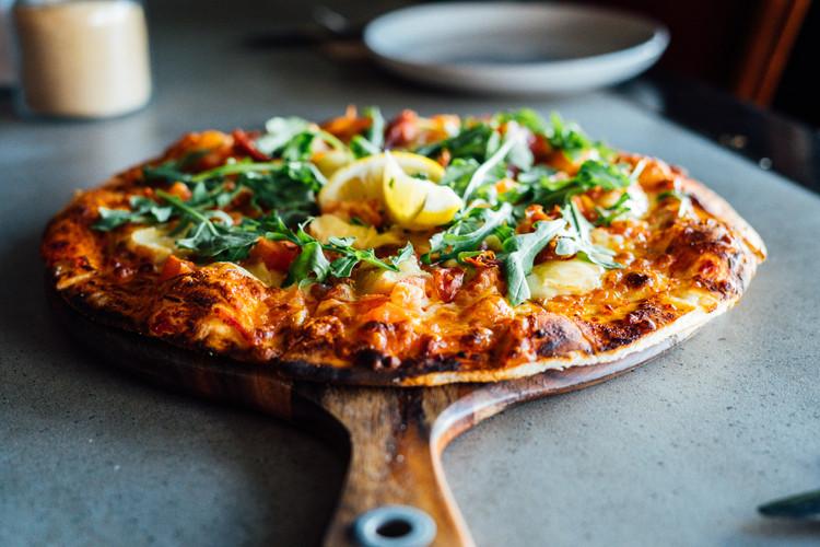 Pizza at Attaboy Bar & Restaurant Dapto