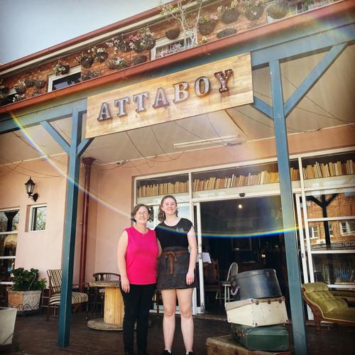 Outside of Attaboy Bar & Restaurant Dapto