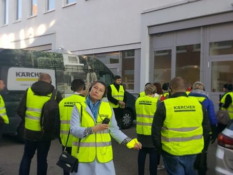 Посещение завода Керхер в Германии
