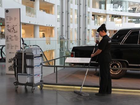 Современные технологии уборки помогают обеспечить профилактику заболеваемости в период эпидемий