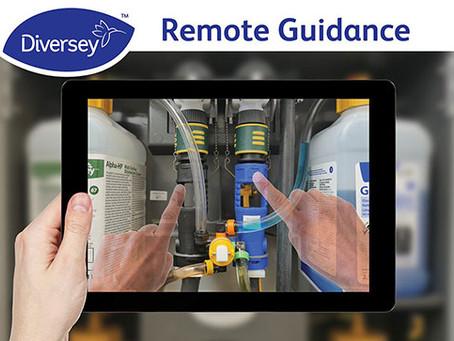 С приложением Remote Guidance компании Diversey обслуживание клиентов переходит на новый уровень