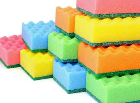 Почему губки для мытья посуды разного цвета
