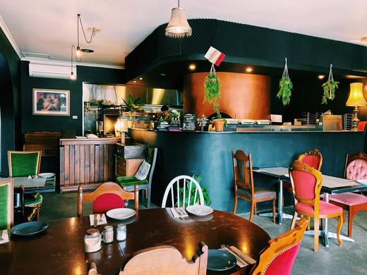 Inside of Attaboy Bar & Restaurant Dapto