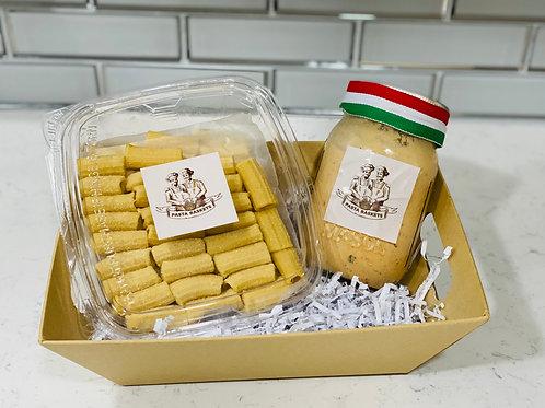 Chipotle Cream Sauce & Rigatoni