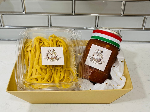 Bolognese with Fettuccine