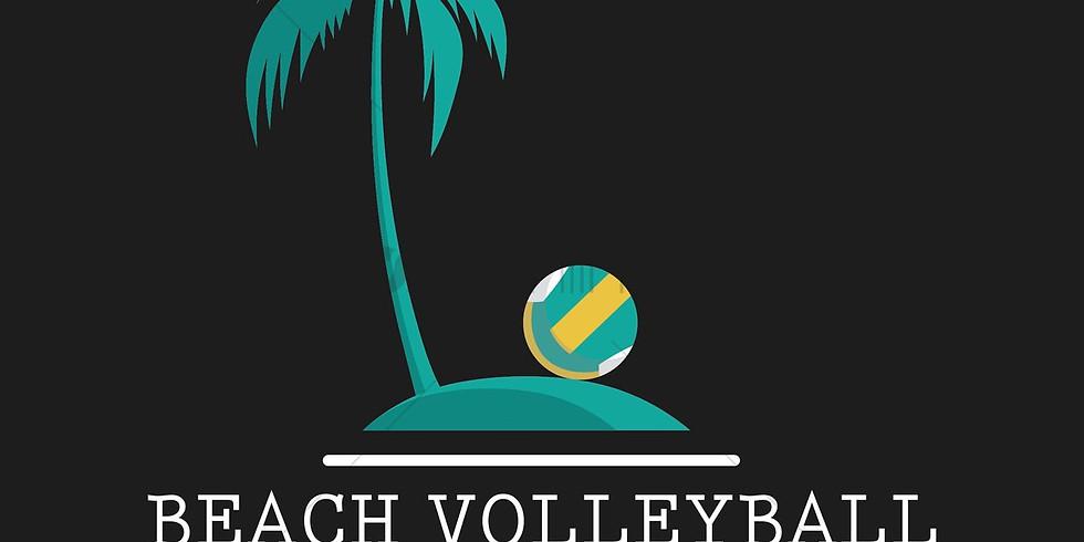 tournoi beach volley mixte 2x2 / 6 juin 2021